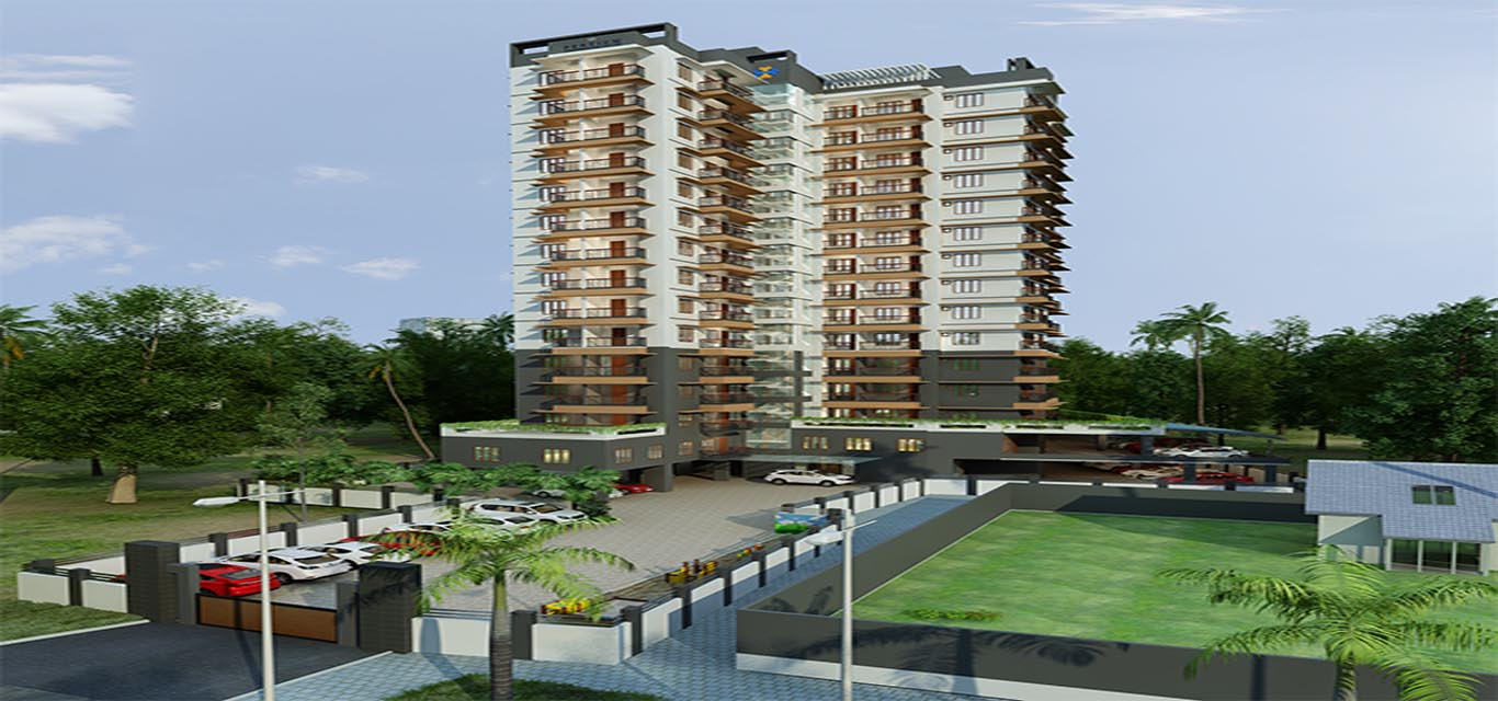 Pentium Eternia Vertical Homes Eranhipalam Kozhikode banner