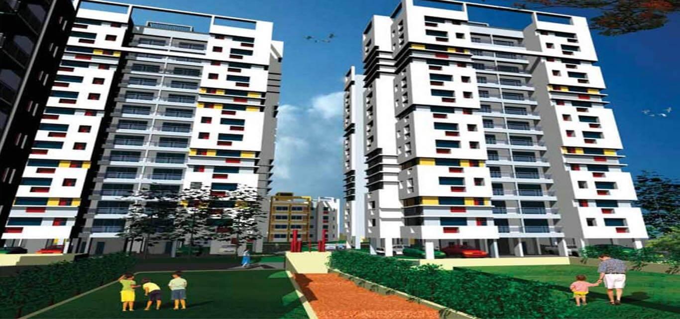 Sunny Fort New Town Kolkata banner