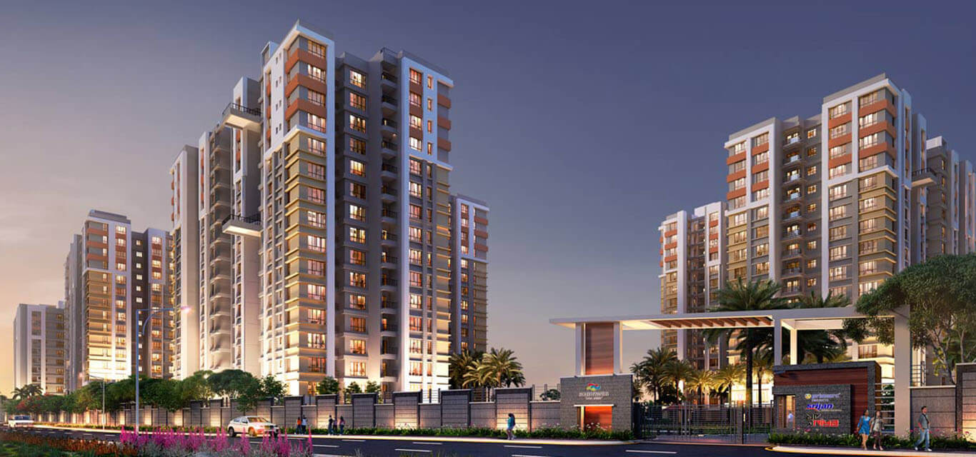 Primarc Projects South Winds Sonarpur Kolkata banner