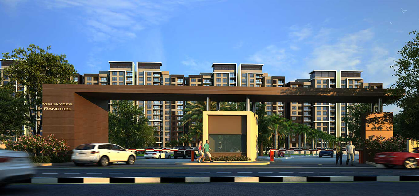 Mahaveer Ranches Off Sarjapur road Bangalore banner