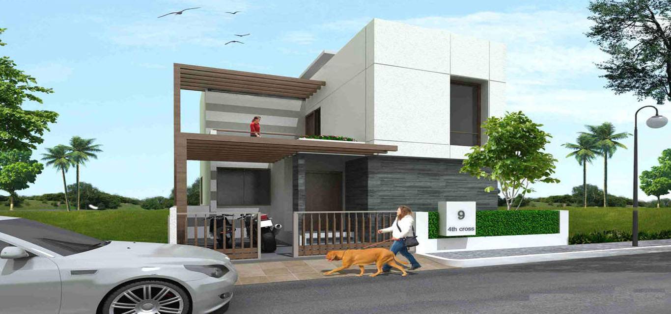 Anish Green County Villa Whitefield Bangalore banner