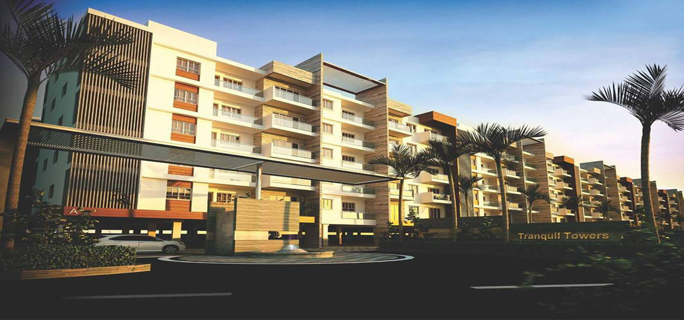 Dhruthi Tranquil Towers Whitefield Bangalore banner