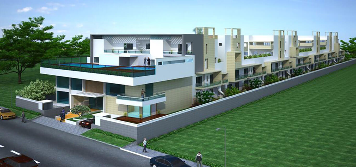 Nester Earth Villaments Villa Off Hennur Road Bangalore banner
