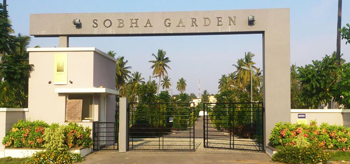 Sobha Garden Plot Belavathe Mysore banner