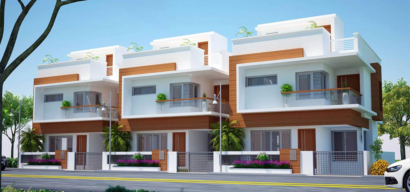 Hegde Silver Springs Villas Bogadi Road Mysore banner