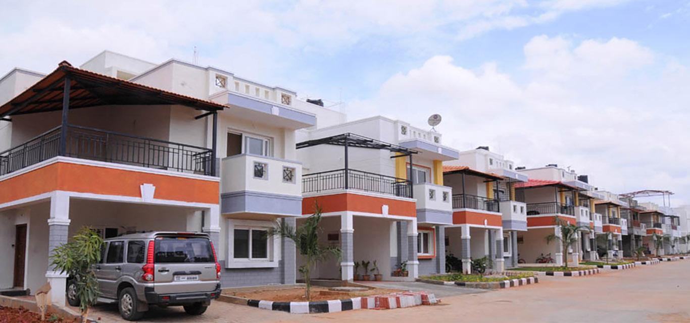 Peninsula Infra Palmville Villa Sarjapur Bangalore banner