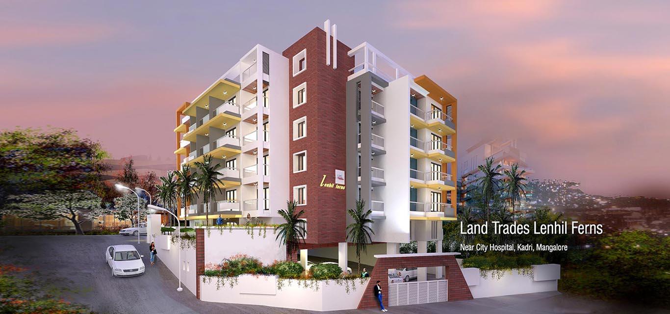 Land Trades Lenhil Ferns Kadri Mangalore banner