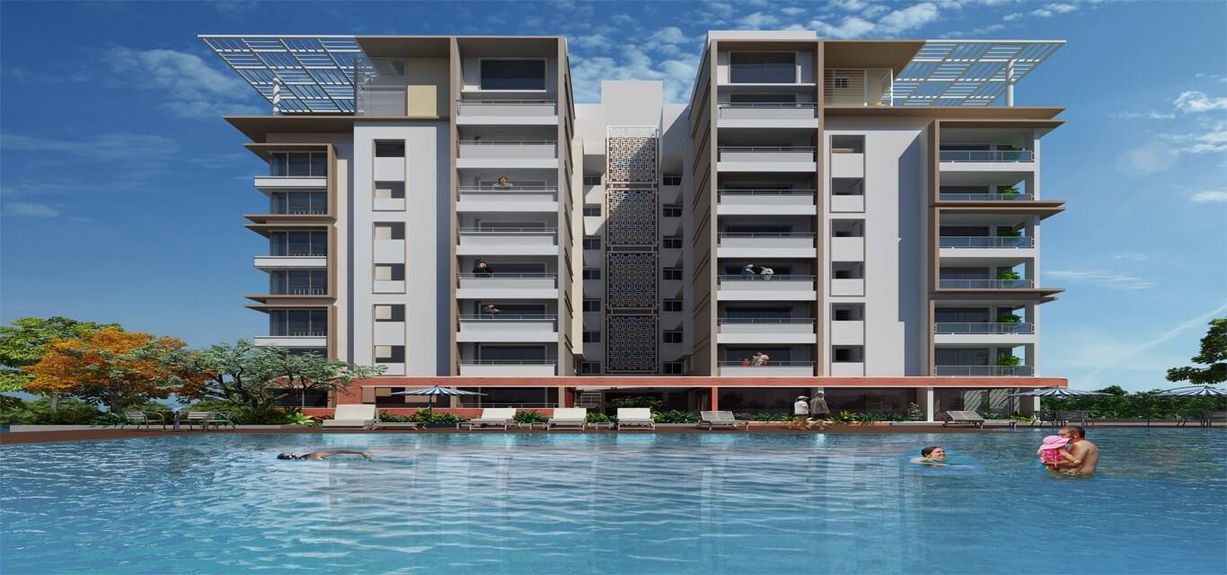 Sukritha aaroha condominiums banner