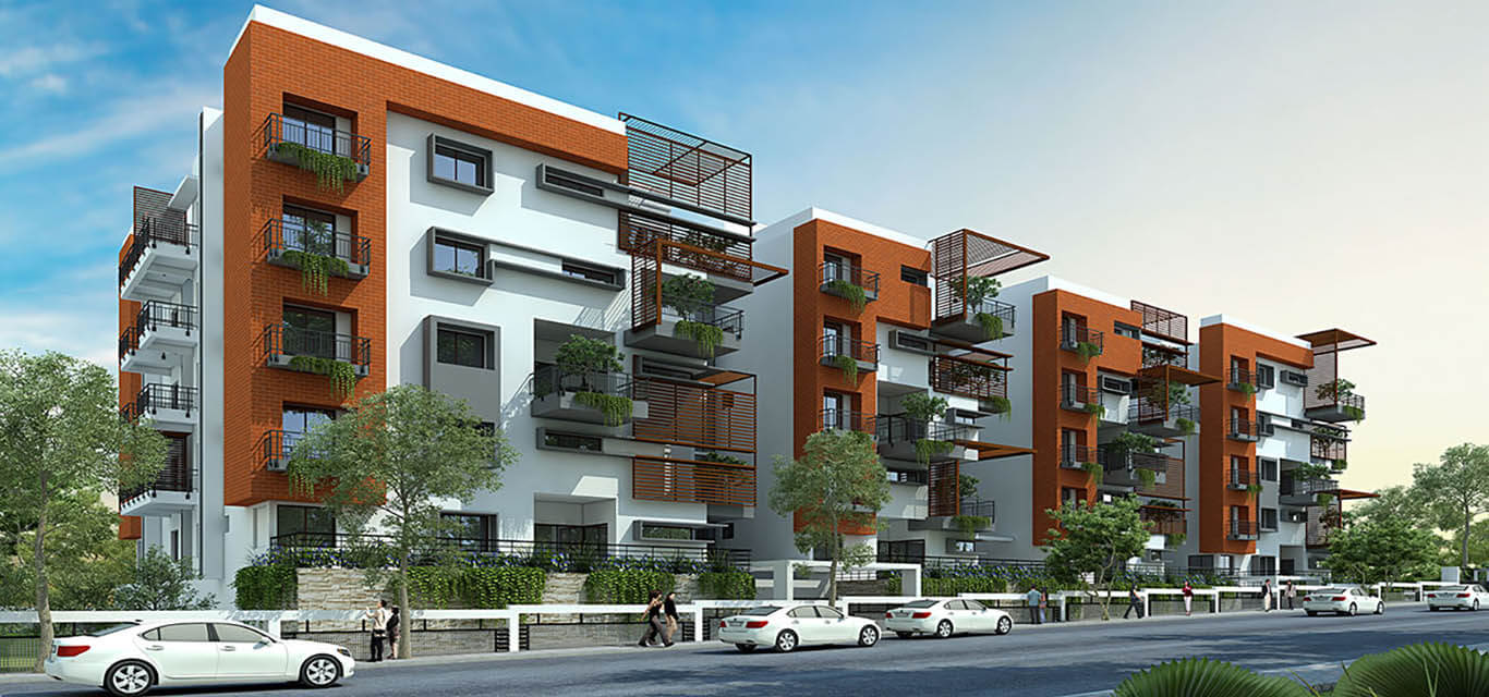 Samprasiddhi Green Edge Off Thanisandra Road Bangalore banner