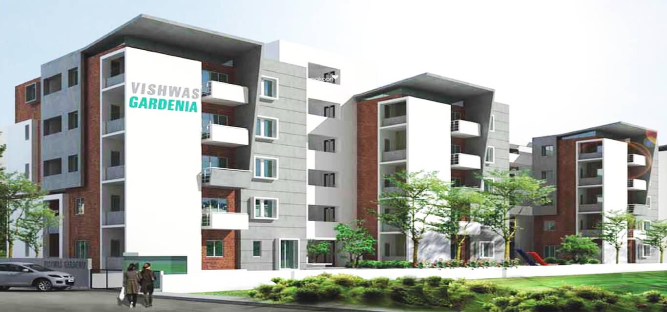 Vishwas Gardenia Benson Town Bangalore banner