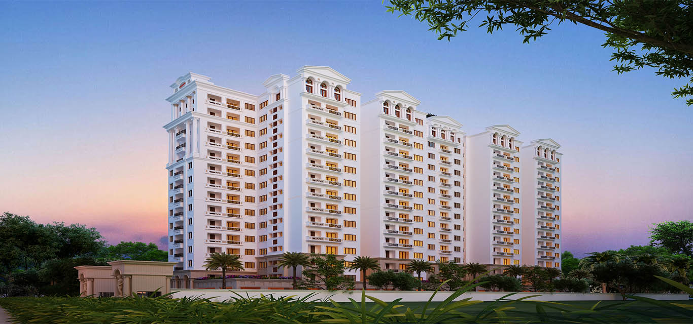 DSR Lotus Towers Whitefield Bangalore banner