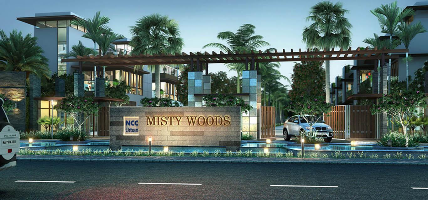 NCC Urban Misty Woods Villa Yelahanka Bangalore banner