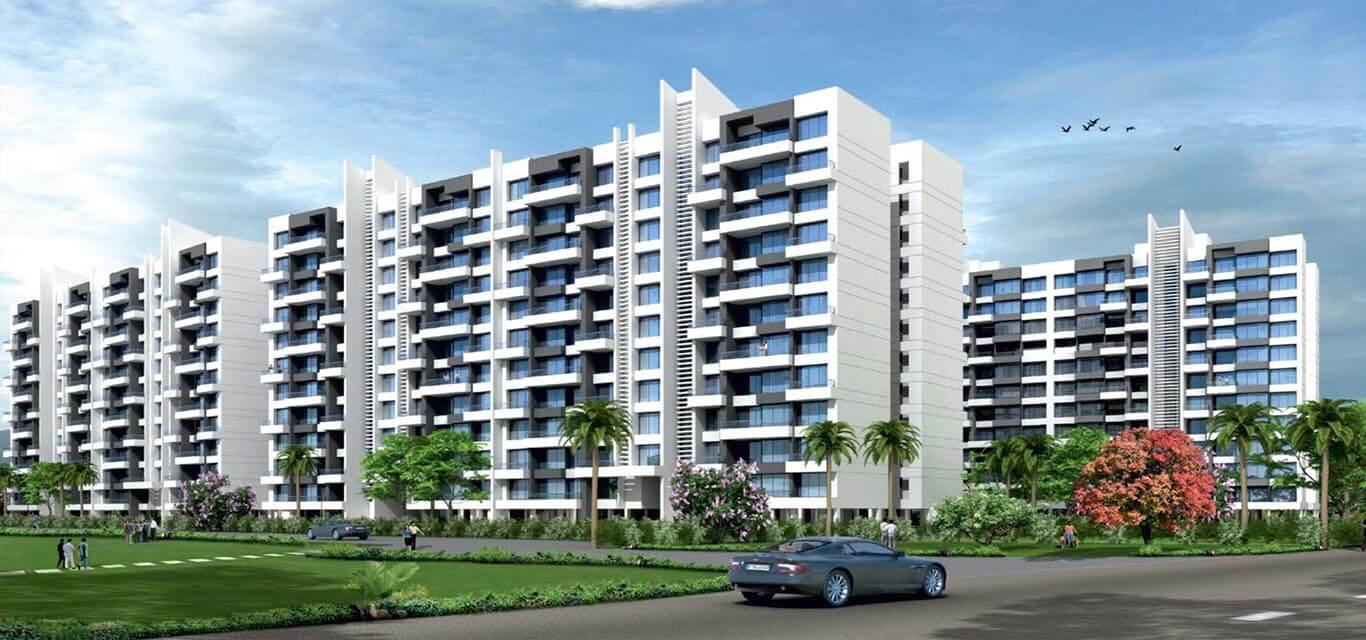 Woods Ville Phase III Moshi Pune banner
