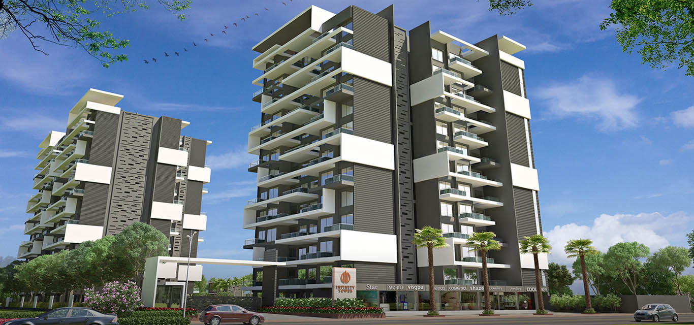 Tulip Infinity Tower A Wing Ravet Pune banner