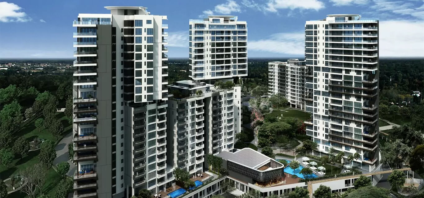 Embassy Lake Terraces Hebbal Bangalore banner