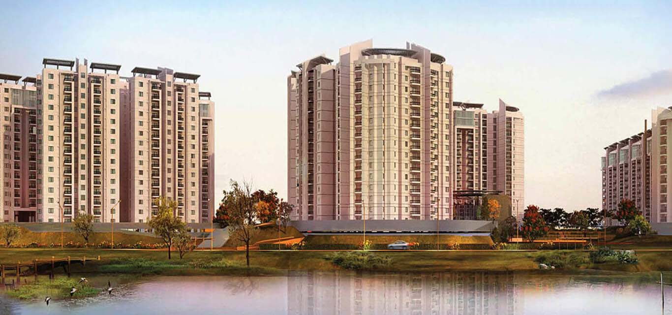 Brigade Lakefront Crimson Whitefield Bangalore banner