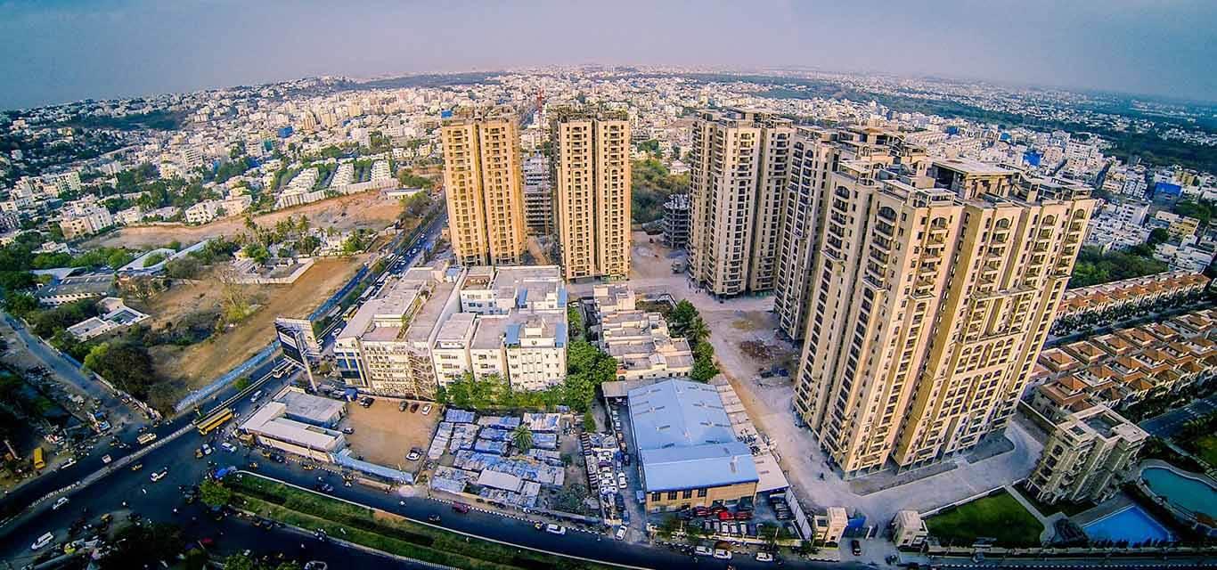 Aditya Empress Towers Jubilee Hills Hyderabad banner