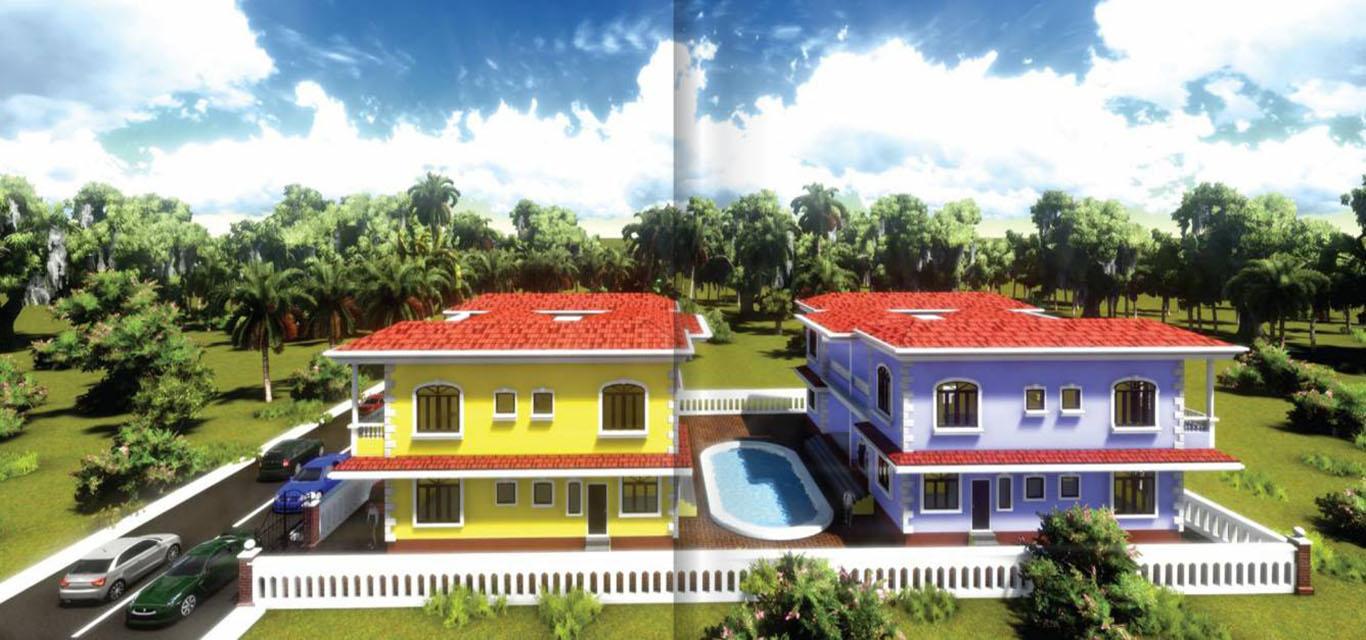 R Square Villa De Sol Assagao Goa banner