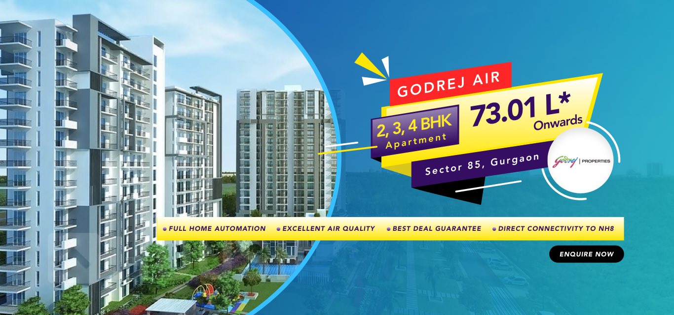 Godrej Air Sector 85 Gurgaon banner