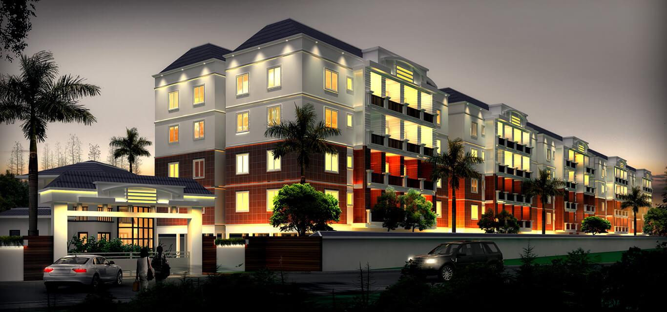 Karan properties  the mark residences
