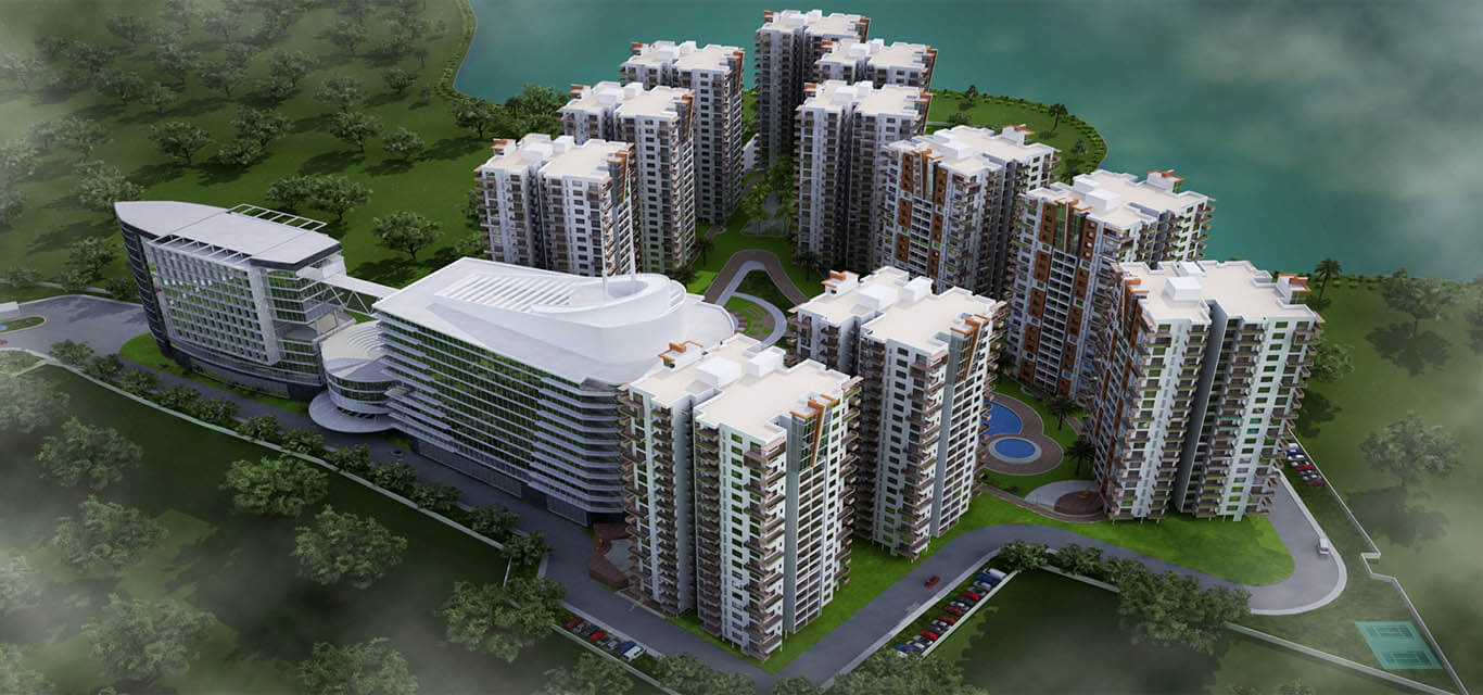 Fortuna Lake Towers Yelahanka Bangalore banner