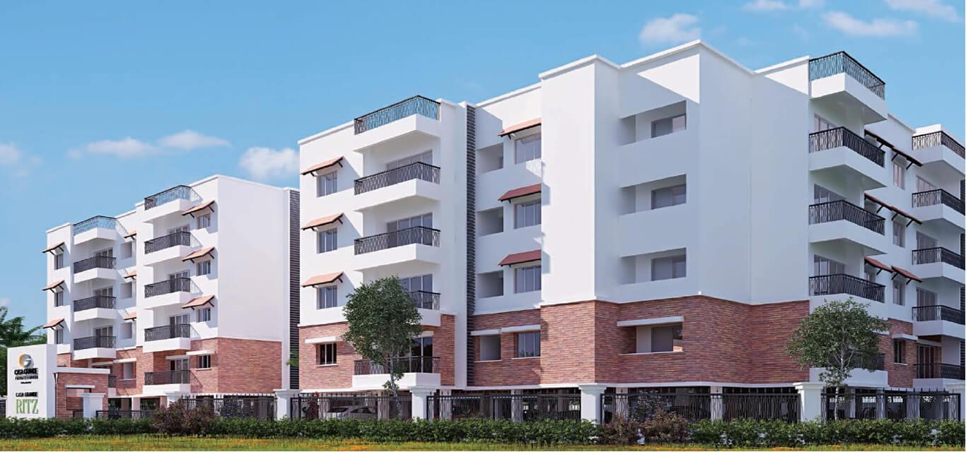 Casagrand Ritz Thalambur Chennai banner
