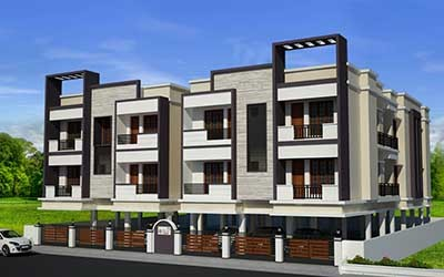 JKB Royal Garden Maxworth Nagar Chennai