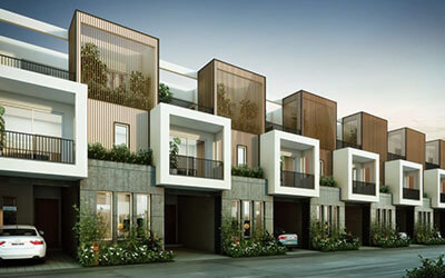 Assetz Soul and Soil Row Houses Off Hennur Road Bangalore