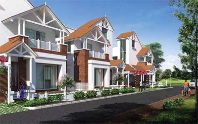 Prestige Augusta Golf Village Villa Horamavu Bangalore