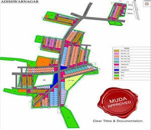 Mahaveer Adishwar Nagar Plot Ilavala Hobli Mysore