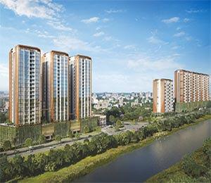 Duville Riverdale Suites Kharadi Pune