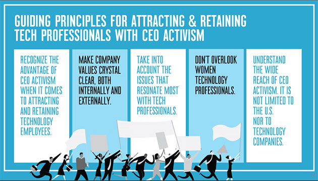 What CEOs need to do attract and retain tech talent
