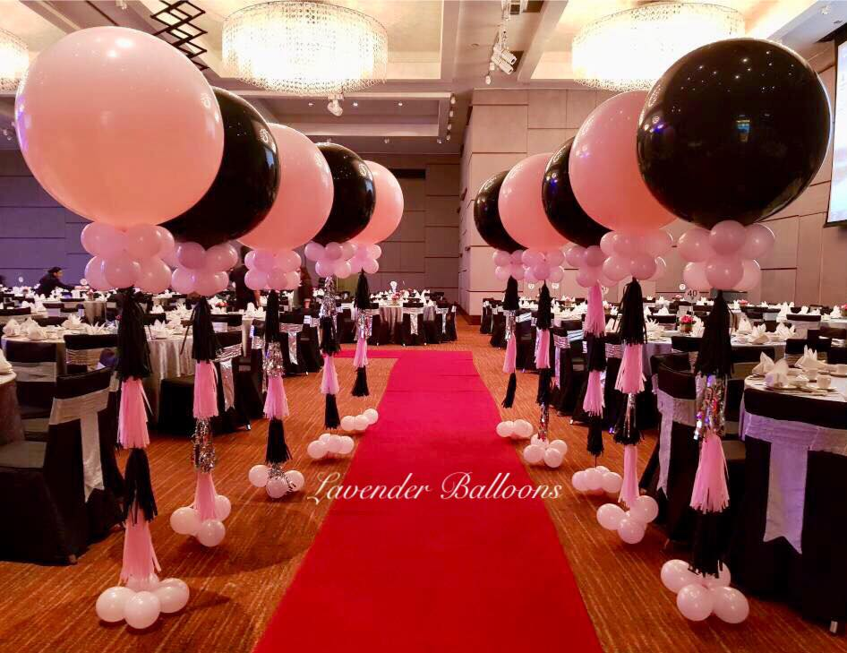 Lavender Balloons image