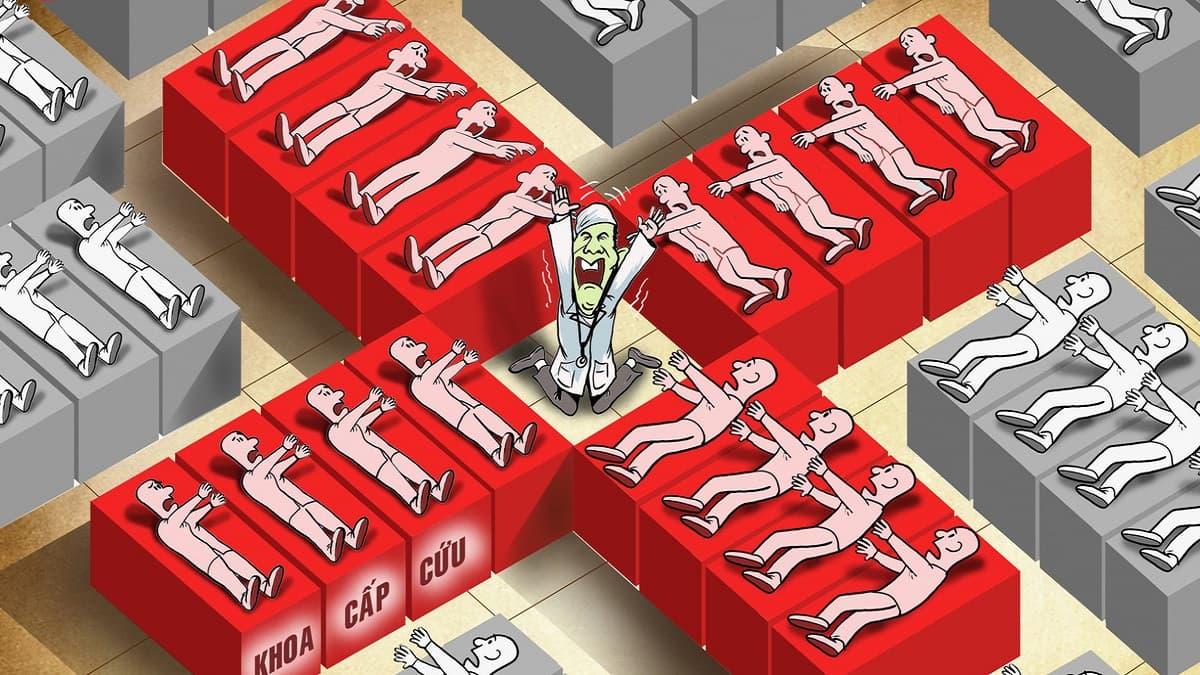 Thực trạng quá tải và các vấn đề trong cấp cứu là gì?
