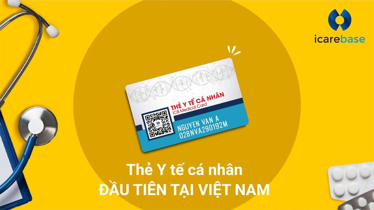 iCB Medical Card – Thẻ Y tế cá nhân đầu tiên tại Việt Nam