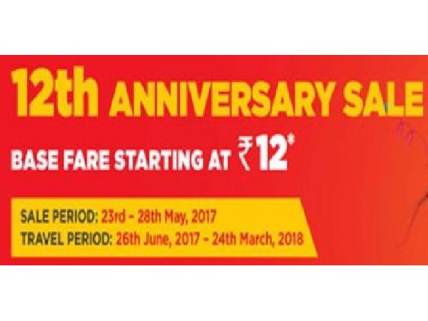 MakeMyTrip Domestic Flights - SpiceJet's 12th Anniversary