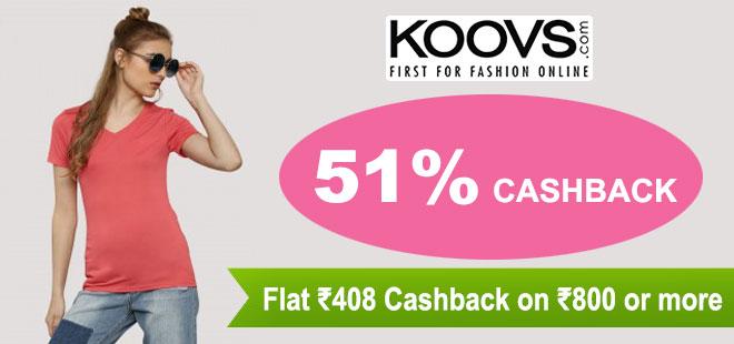 indiancashback-51percent-CASHBACK--Get-Rs408-Cashback-on-all-orders-above-Rs-800----