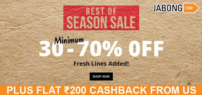 indiancashback-Best-of-Season-Sale--Get-Up-To-70percent-OFF-on-Clothing--Accessories---More---Up-to-Rs-200-cashback-from-us