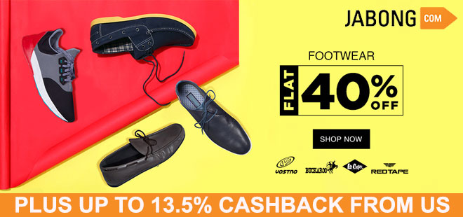 indiancashback-Flat-40percent-off-on-Footwear---Up-to-13-5percent-cashback-from-us