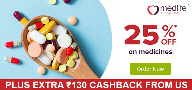 indiancashback-Get-Flat-25percent-off-on-medicines--Sitewide----Additional-Rs-130-cashback-from-us