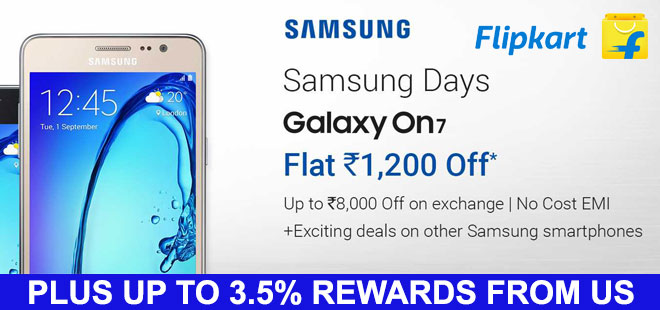 indiancashback-Get-Flat-Rs-1200-Off-On-Samsung-Galaxy-On7-For-Just-Rs-8-990---Exchange-Offers---Up-to-3-5percent-rewards-from