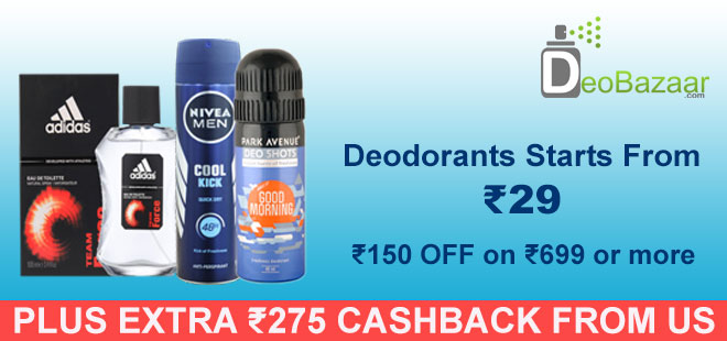 indiancashback-Get-Flat-Rs-150-Discount-On-Orders-Of-Rs699---Above---Up-To-Rs200-Cashback-On-Pay-With-PayPal---Additional-Rs-