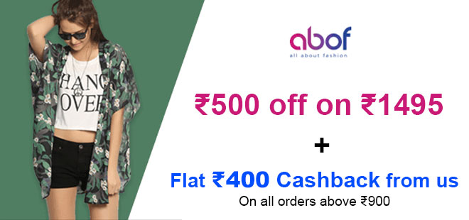 indiancashback-Get-Rs-500-Off-on-a-purchase-of-Rs-1495-and-above---Additional-Rs-400-cashback-from-us