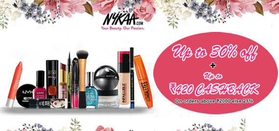 indiancashback-Get-Up-to-30percent-Off-on-Beauty-Products-starting-at-Rs-100---Up-to-Rs-420-cashback-from-us