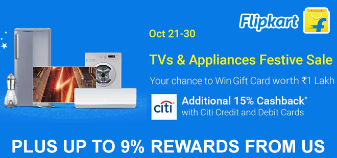 indiancashback-Large-Appliances-Festival--Extra-15percent-cashback-on-ALL-purchases-above-Rs-3000-using-Citi-Bank-Debit---Cre