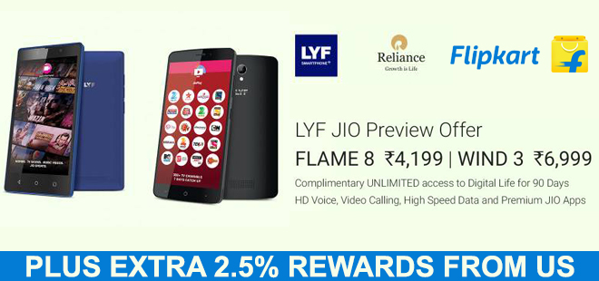 indiancashback-LYF-Mobiles-with-3-months-unlimited-Reliance-JIO-4G-plan---Up-to-4percent-reward-from-us