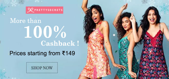 indiancashback-Prettysecrets-Accessories-Starts-From-Rs-149---Up-to-Rs-450-cashback-from-us