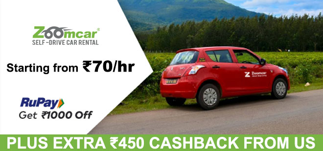 indiancashback-Rupay-Card-Offer--Get-20percent-Off-On-Zoomcar-Booking---Additional-Rs-450-cashback-from-us