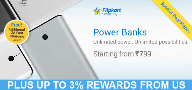indiancashback-Smartbuy-Power-banks--Starting-from-Rs-799---Free-2A-fast-charging-cable---Up-to-3percent-rewards-from-us