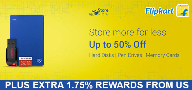 indiancashback-Storage-Days--Up-to-50percent-off-on-Memory-cards--Pendrives-and-Hard-disks---Additional-1-75percent-rewards-f